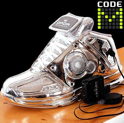 Dada Code M Sneakers in Silver