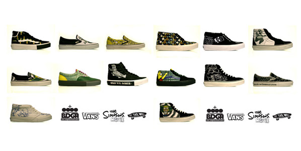 Simpsons x Vans All Fourteen Shoes | Sneakers And Shoes