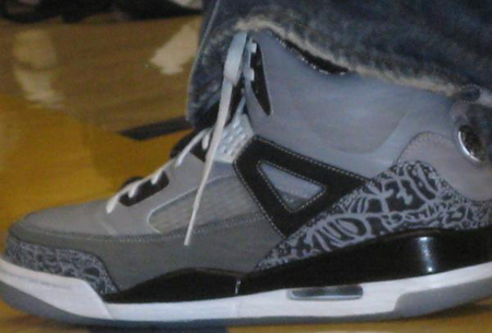 Unrelease Cool Grey Air Jordan Spizike