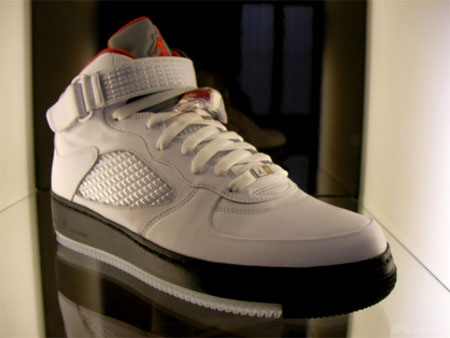 jordan air force 1. air jordan fusion v in white black and red force 1