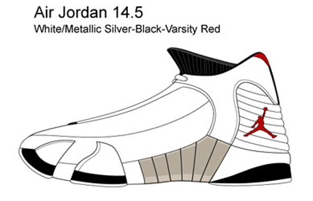 From sneakerfiles and kenlu - Air Jordan 14.5 Renders