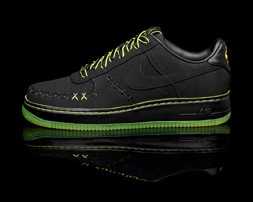 black and green air force ones 832526f7149b