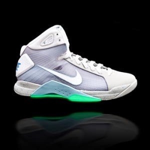 On Nicekicks: Marty McFly Hyperdunk GLOW IN THE DARK