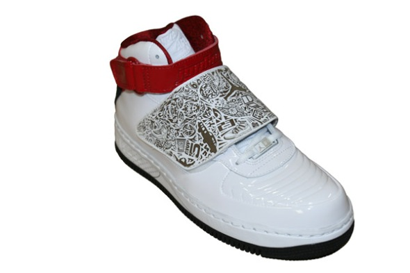Air Jordan Fusion 20 White and Red