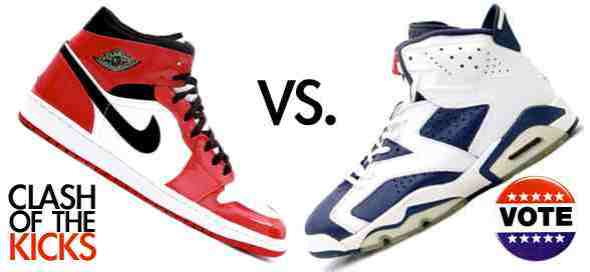 Air Jordan 1 Retro vs Air Jordan 6 Olympics VOTE - From Kicks On Fire
