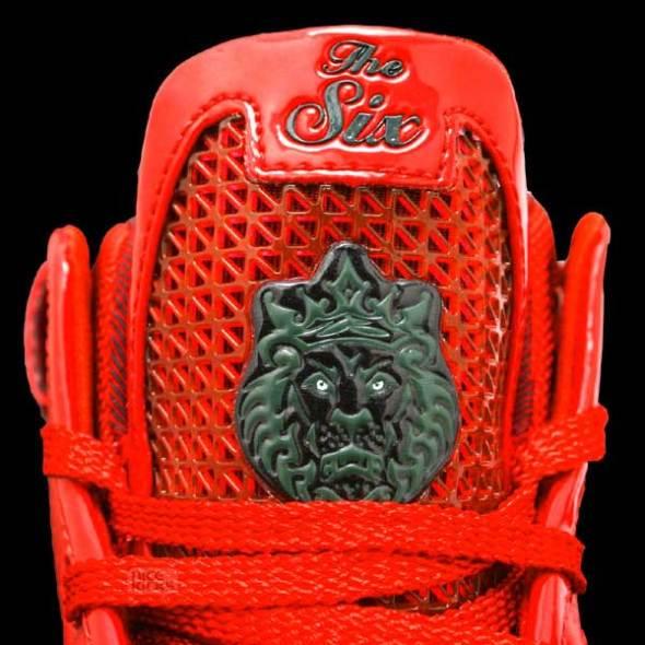 Nike Lebron VI Big Apple In Depth Look - CLOSEUP