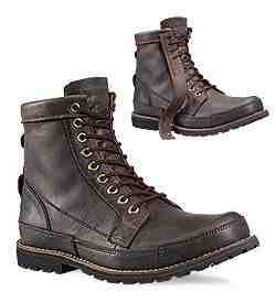 One of Timberland's Earthkeepper Boots