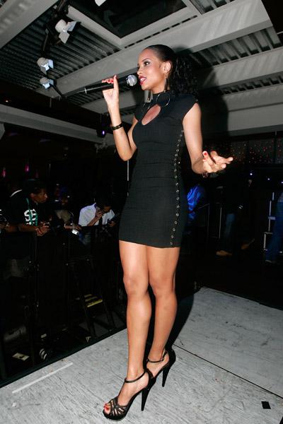 Ciara at Terrence J NY Birthday Party