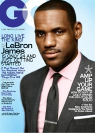 LeBron GQ Magazine Cover