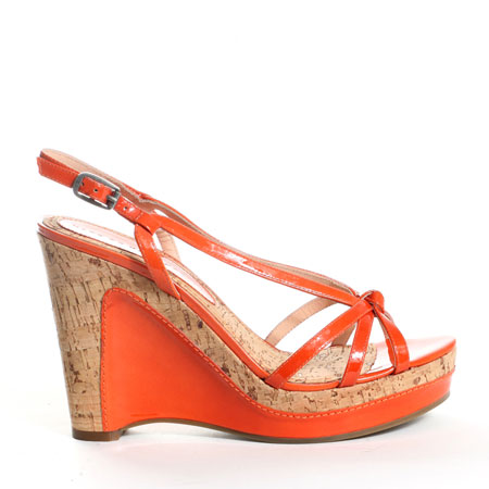 Marc by Marc Jacobs Copper Patent Wedge