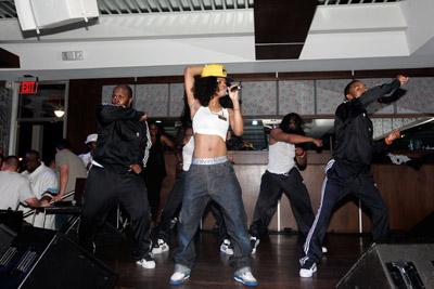 Teyana Taylor at Terrance J NY Birthday Party