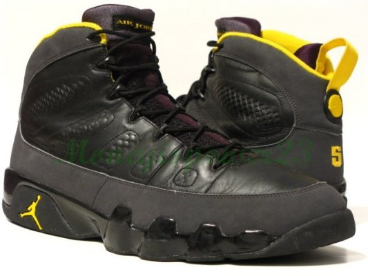 Air Jordan 9 (IX) Player Exclusive - Marcus Jordan