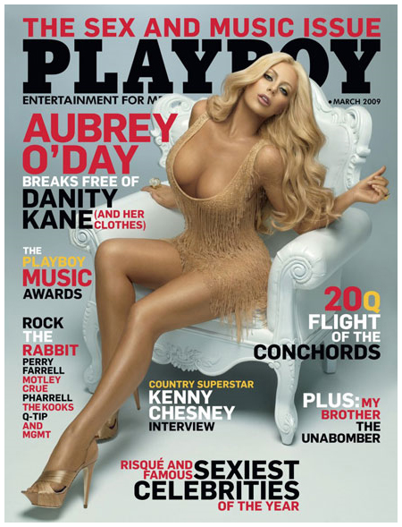 Aubrey O'Day Covers Playboy