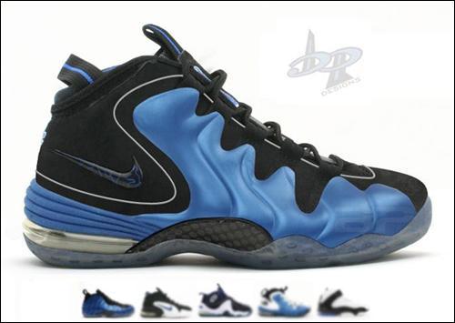 Custom Designs: Nike Air Penny Hybrid by BP