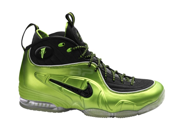 Half Cent in Lime Green