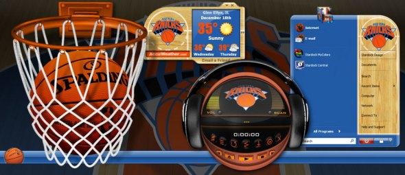 NBA Teaser Desktop Design by Stardock