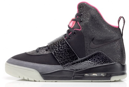 Nike Air Yeezy in Black with Grey and Pink