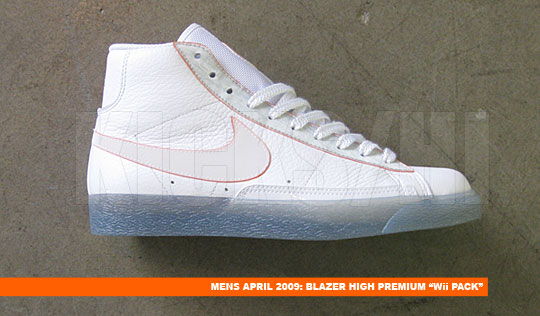 "Nike Blazer High Premium ""Wii Pack"" & Nike RT1"