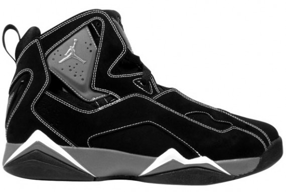 AIR Jordan FLIGHT Black - Light Graphite - Metallic Silver