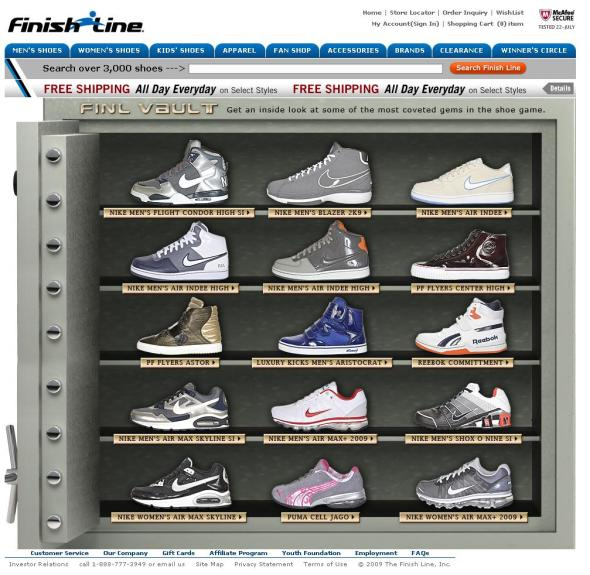Finishline-Limited Edition page