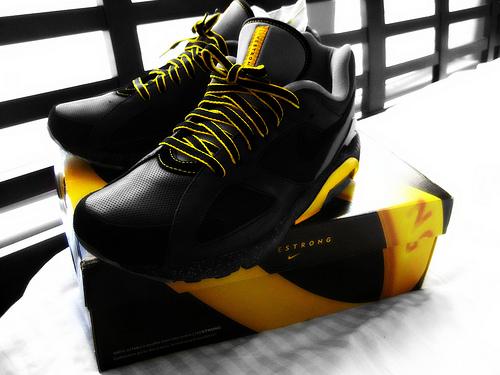 LIVESTRONG Nike Air Max 180 by champlooo702