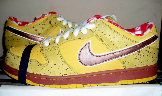 Concepts x Nike SB Dunk Low - Yellow Lobster