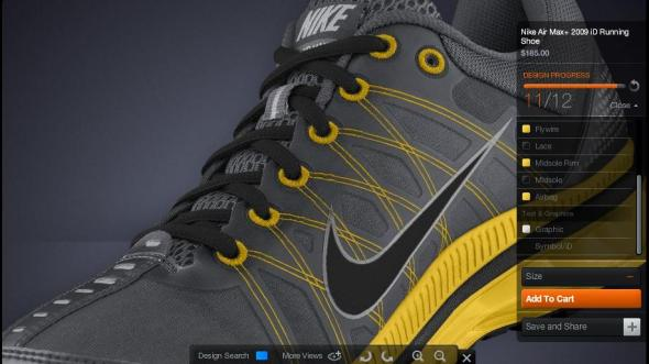 Nike Air Max 2009 iD Black Gold