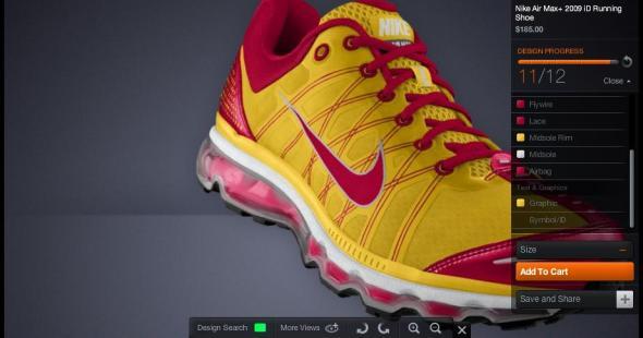 Nike Air Max 2009 iD Ronald McDonald