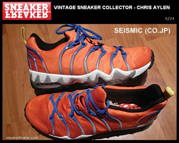 Sneaker-Freaker - Chris Aylen Sneaker Collection 01