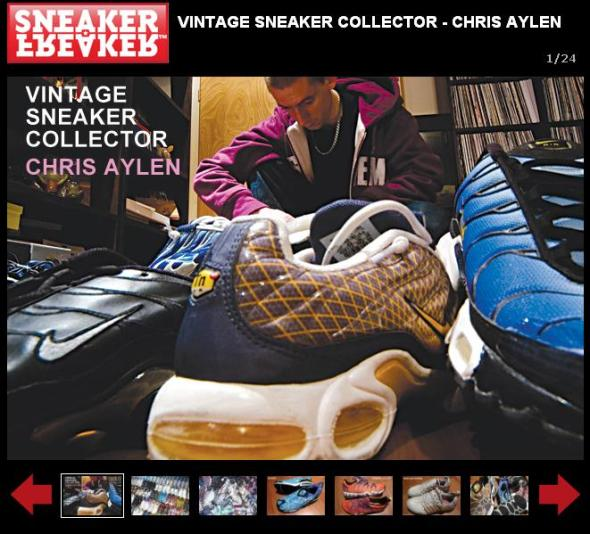Sneaker-Freaker - Chris Aylen Sneaker Collection