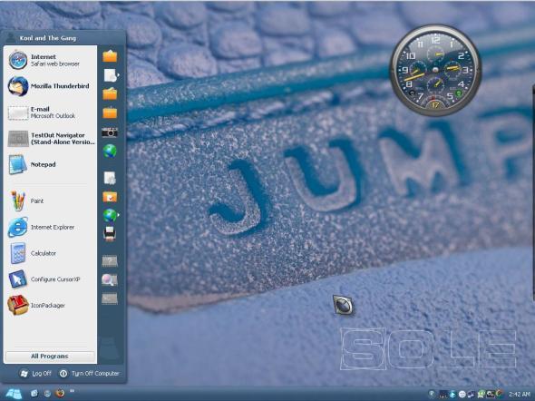 Jumpman Desktop with SOLE