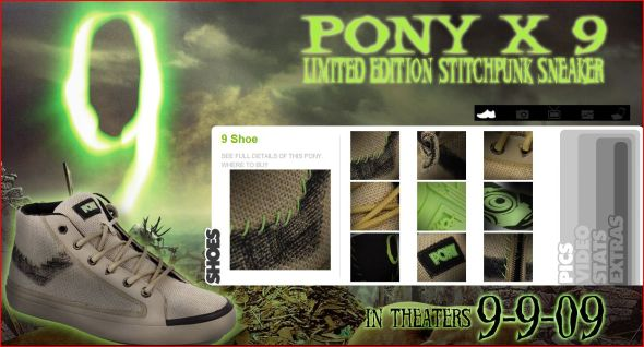 Pony X9 Limted Edition Stichpunk Sneakers