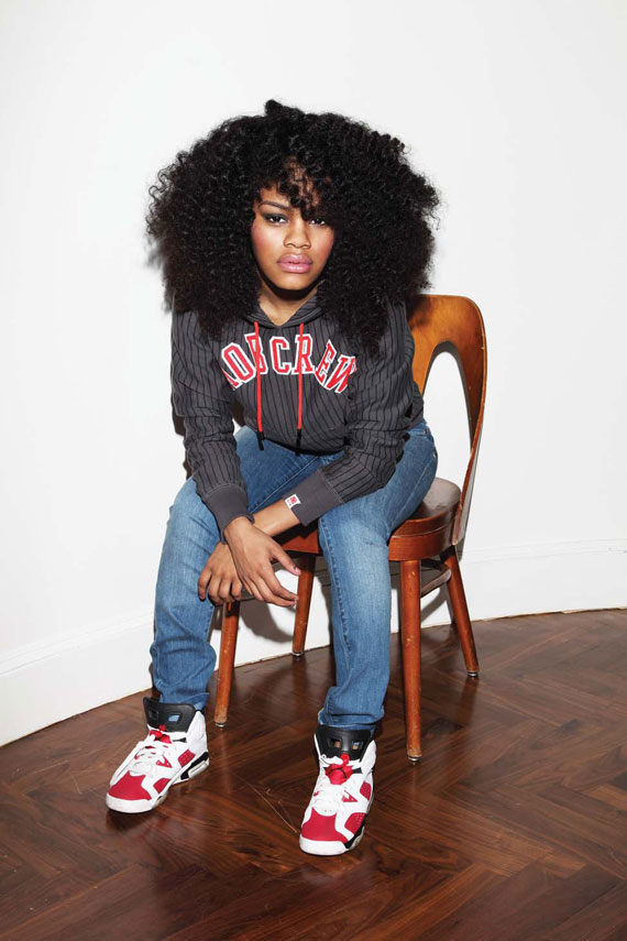Teyana Taylor for Married to the MOB - Fall 2009 Collection