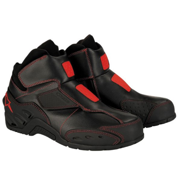 2007_Alpinestars_Octane_Riding_Shoe_Black_Red