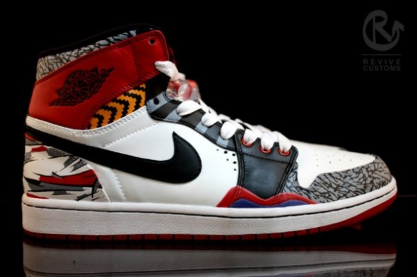 REVIVE CUSTOMs What the One Air Jordan