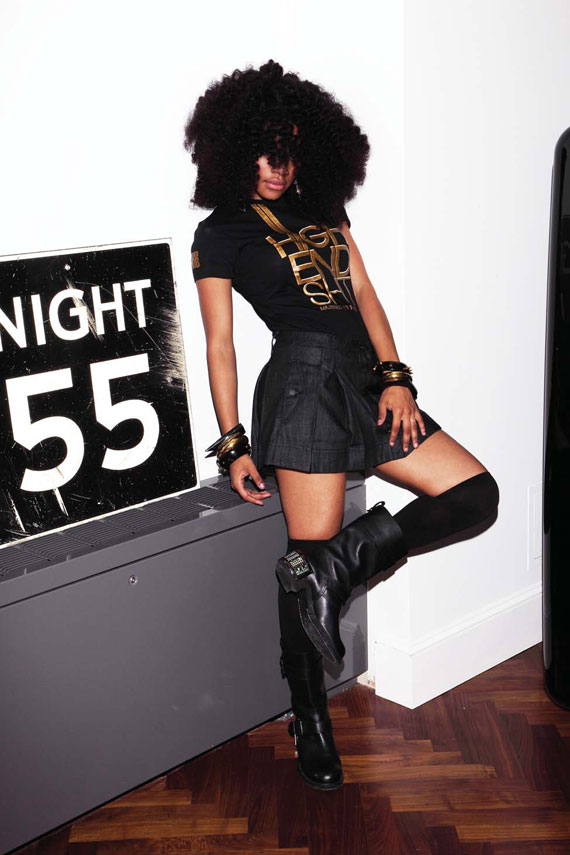Teyana Taylor for Married to the MOB Fall 2009