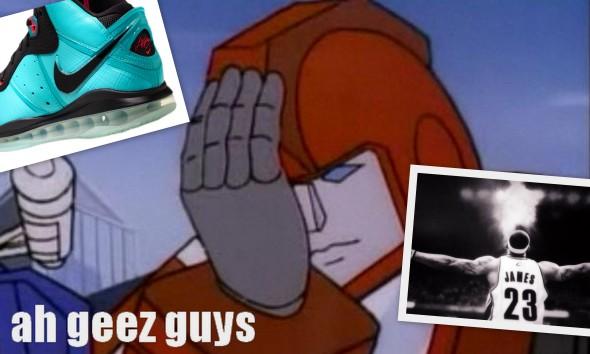 ah geez guys - LeBron VS Clevland